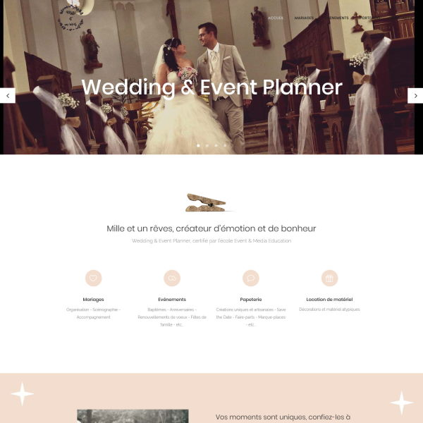 site web mariage